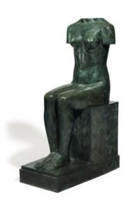 Torso, Seated Woman