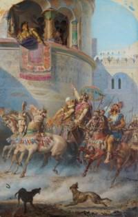 L'entrée de Jéhu à Jezraël