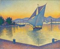 Le Port au soleil couchant, Opus 236 (Saint-Tropez)