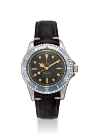 TUDOR. AN ATTRACTIVE AND RARE STAINLESS STEEL AUTOMATIC WRISTWATCH WITH SWEEP CENTRE SECONDS