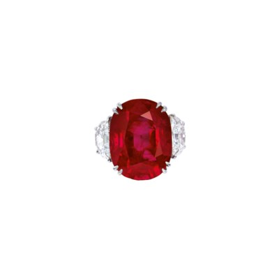 EXCEPTIONAL RUBY AND DIAMOND R