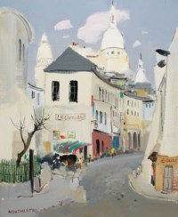 Montmartre of Paris (V)