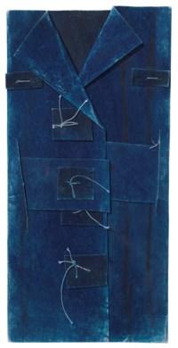 Untitled Construction (Large Blue Jacket)