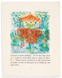 DAUDET (A.) – DUFY (R.). Aventures prodigieuses de Tartarin de Tarascon. Paris, Scripta et Picta, 1937, in-4°, en feuilles, couverture, chemise, emboîtage.