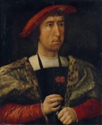 Portrait d'homme à l'œillet