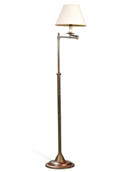 TWO ADJUSTABLE STANDARD LAMPS
