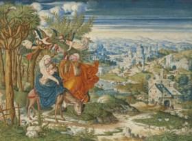 ATTTRIBUÉ A LUCAS GASSEL (HELMOND AVANT 1500-1568 OU 1569)