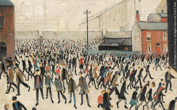 People Watching: The Art of L.S. Lowry