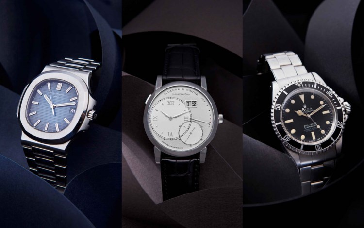 Christie's Watches Online: Falling for Time