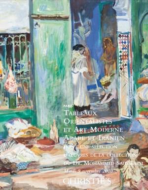 Tableaux Orientalistes et Art  auction at Christies