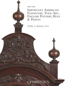 Important American Furniture,  auction at Christies