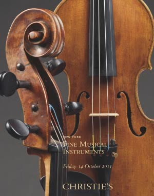 Fine Musical Instruments auction at Christies