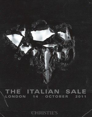 The Italian Sale auction at Christies