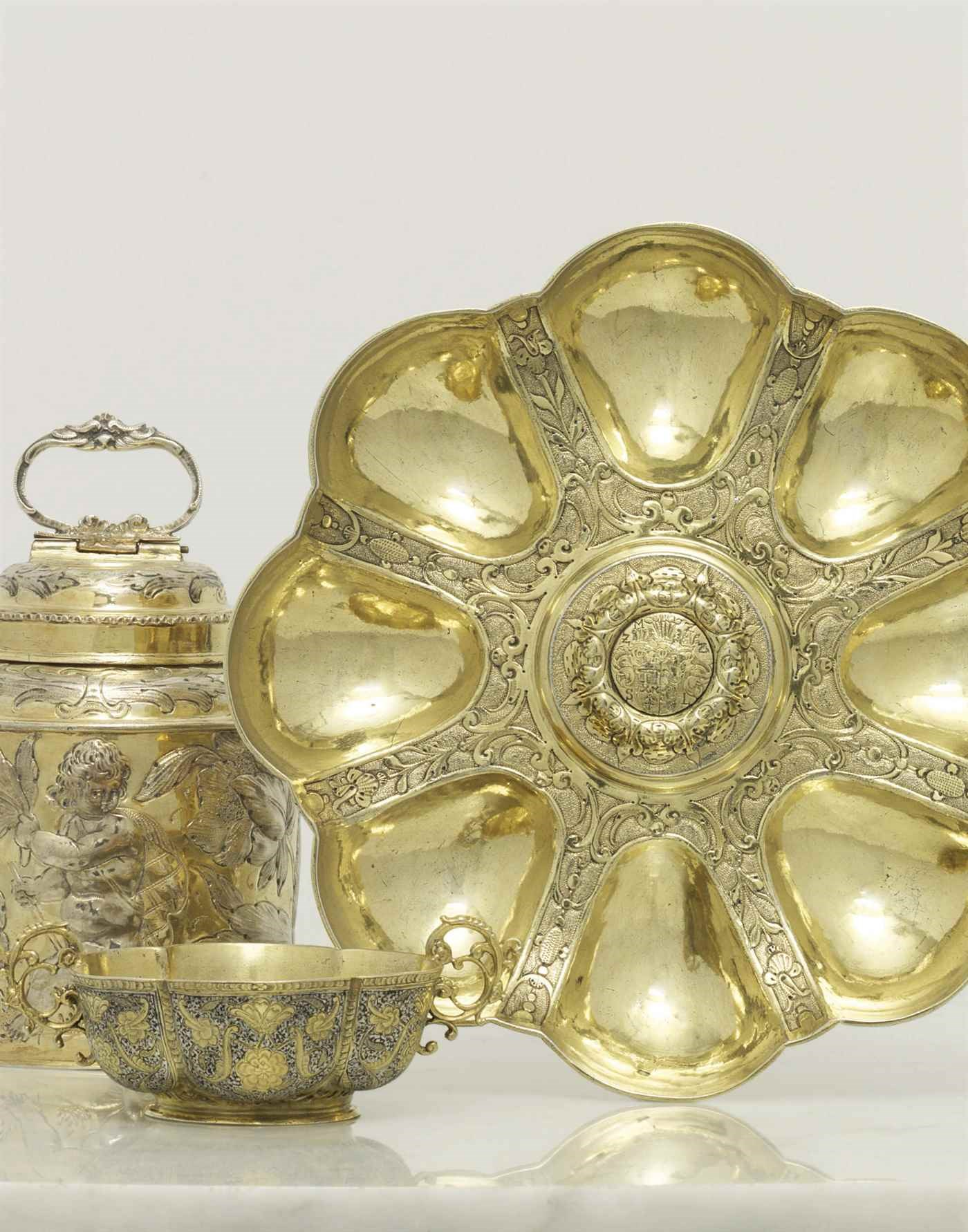 Silver & Gold Boxes auction at Christies