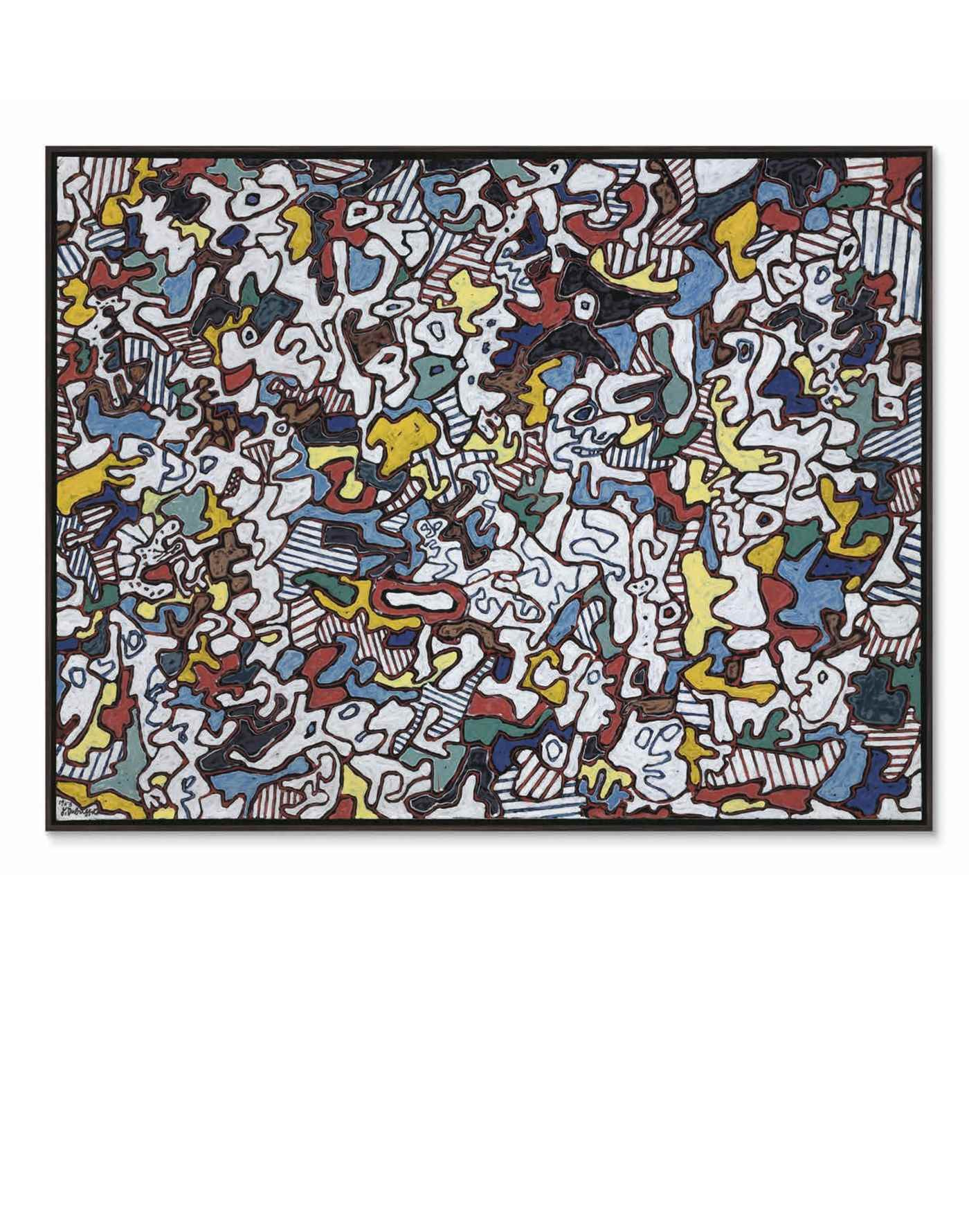 Post War & Contemporary Art Ev auction at Christies