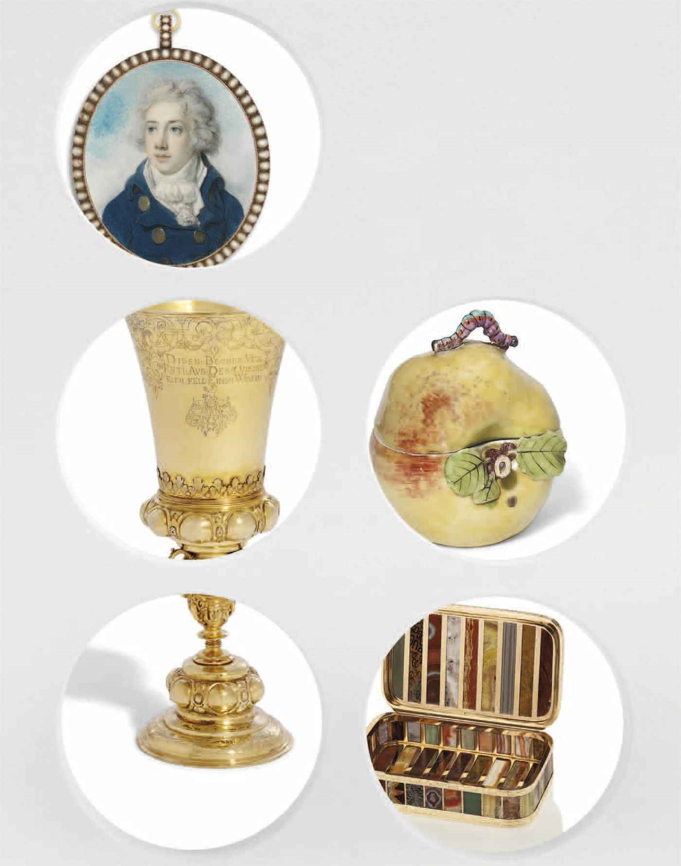 Centuries of Style: Silver, Eu auction at Christies