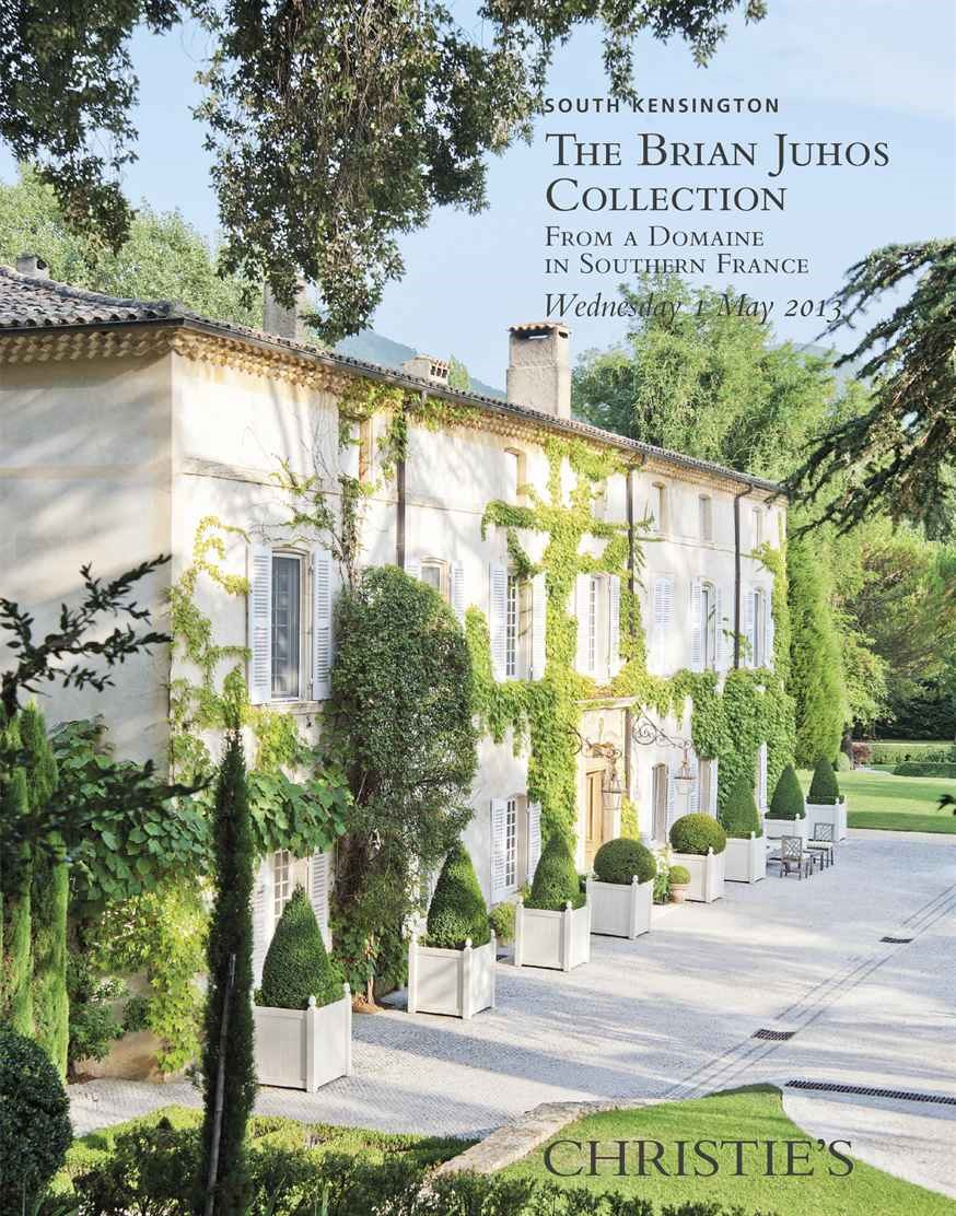 The Brian Juhos Collection Fro auction at Christies