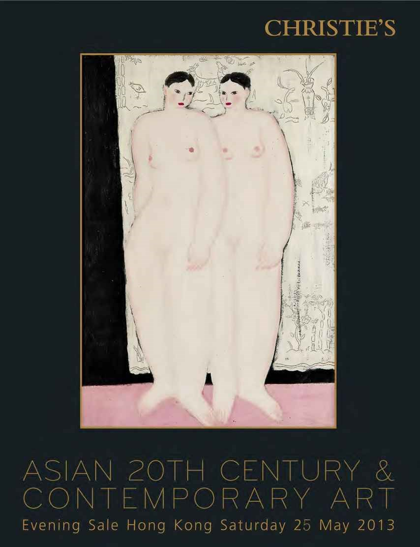 Asian 20th Century & Contempor auction at Christies