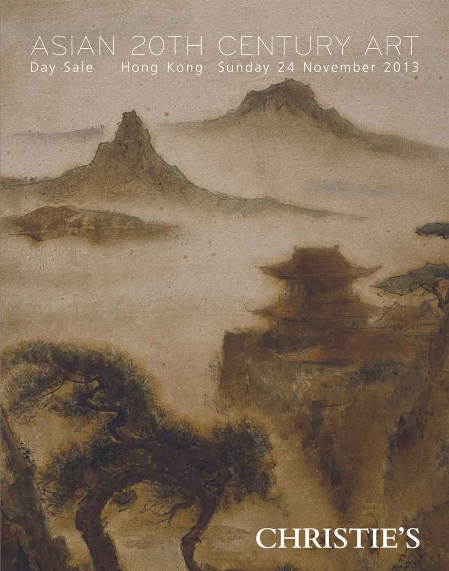 Asian 20th Century Art (Day Sa auction at Christies